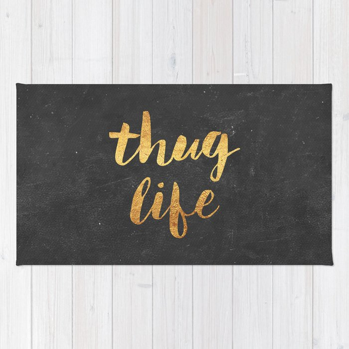 Thug Life Rug