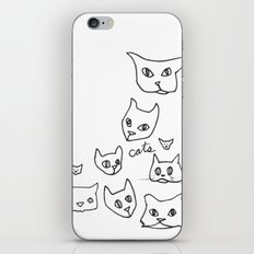 Cats Cat iPhone & iPod Skin