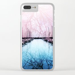 Bring In The Boats Clear iPhone Case