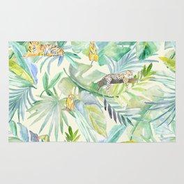 Tropical green Rug