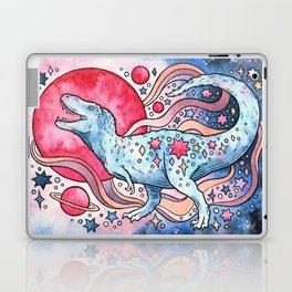 Star Rex | Cosmic Dinosaur Watercolor Laptop & iPad Skin