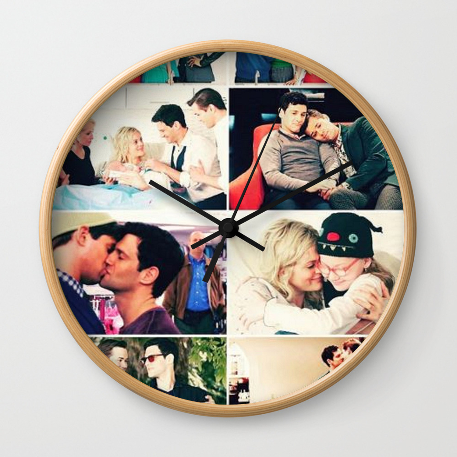 The New Normal Tv Show Wall Clock By Fairylove Society6