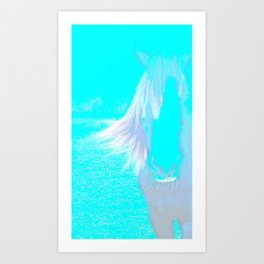 Lucky's Face Art Print