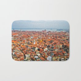 Venice Rooftops Bath Mat