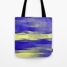 Sun Rays, Wind and Cobalt Sky Abstract Tote Bag