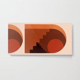 Abstraction_SUN_HOME_MInimalism_001 Metal Print