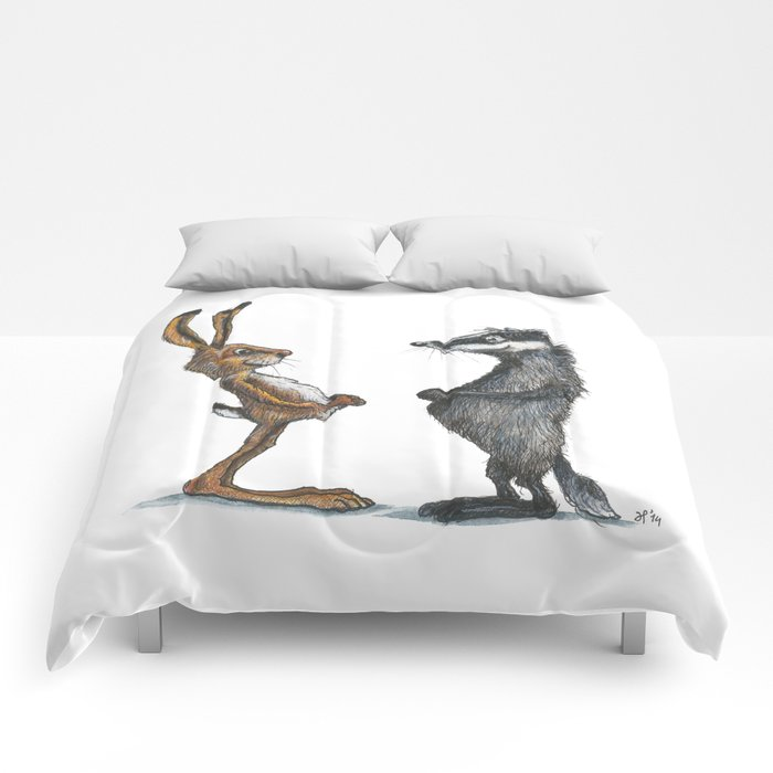Hare & Badger Comforters