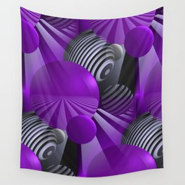 3D - abstraction -131- Wall Tapestry