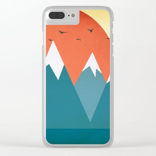 Today dusk Clear iPhone Case