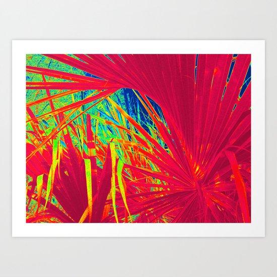 Palm in My World Art Print