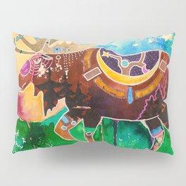 Fantastic Moose - Animal - by LiliFlore Pillow Sham