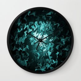 Hope within the sea.... Wall Clock