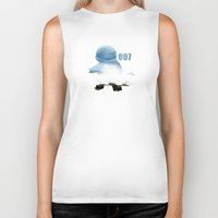 squirtle Biker Tanks featuring 007 squirtle by Hello Happy