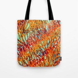 Rainbow Corals Tote Bag