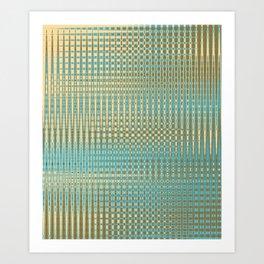 Temporal Lattice Art Print