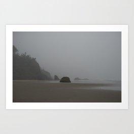 Barren Coast in Cannon Beach Art Print