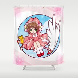 Sakura Kinomoto (Classic Dress) Shower Curtain