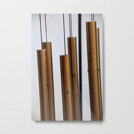 Wind Chimes Metal Print
