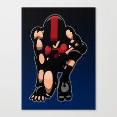 Roller derby x Canvas Print