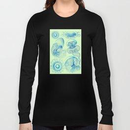 Ernst Haeckel's Leptomedusae Long Sleeve T-shirt