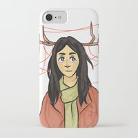 abigail larson iPhone & iPod Cases featuring Abigail - I love you so by KalesButt