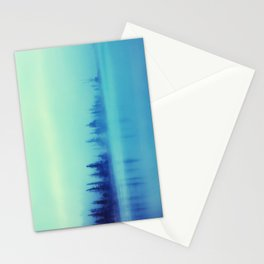 Morning Blues Stationery Cards