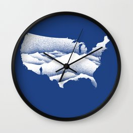 Natural Wonder USA Wall Clock