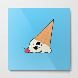 Goofy Foods - Goofy Ice Cream Metal Print