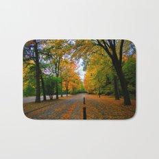 Fall road Bath Mat