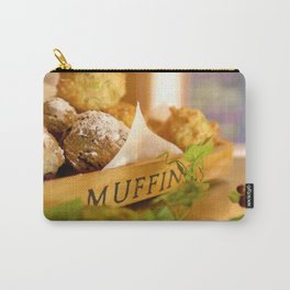 Muffins, fresh and warm, thanks Mom! Carry-All Pouch