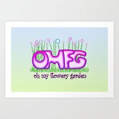 OMFG Art Print