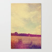 country Canvas Prints featuring COUNTRY by Allyson Johnson