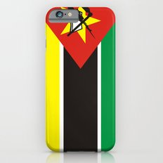 Mozambique country flag iPhone 6s Slim Case