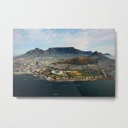 Cape Town aerial view II Metal Print