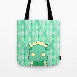 Monochromatic Kuma Lulu Tote Bag