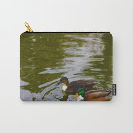 Swimming ducks Carry-All Pouch