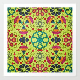 Colorful Mandala #05 Art Print