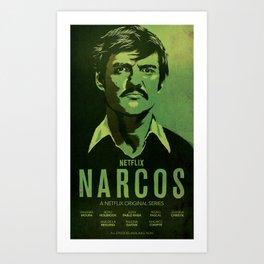 Narcos Javier Pena Art Print