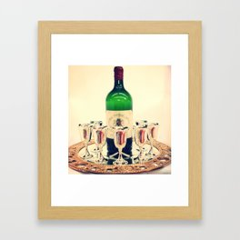 Wine Night Out Framed Art Print