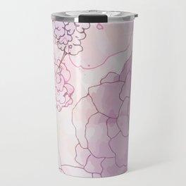 Rosy Posy Travel Mug