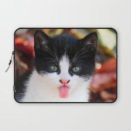 Cat Tongue Laptop Sleeve