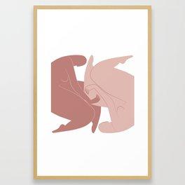 Gemini (May 21 - Jun 21) Framed Art Print