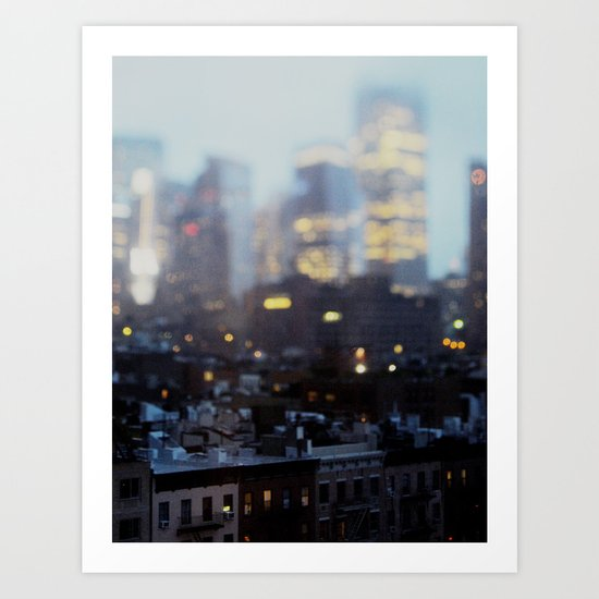 Big City Little Stories. Art Print