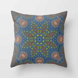 beshroomed Throw Pillow
