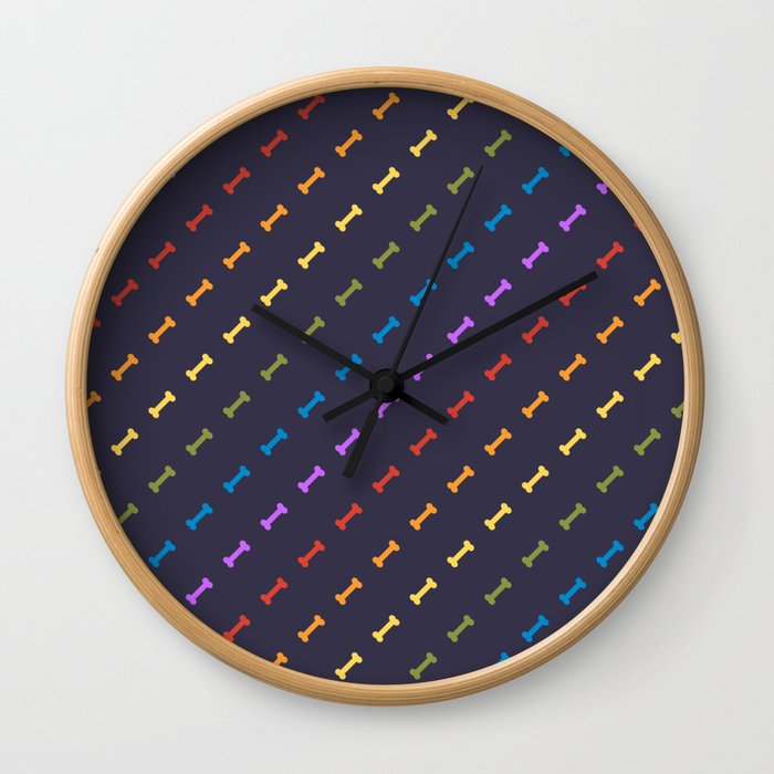 Rainbones Wall Clock