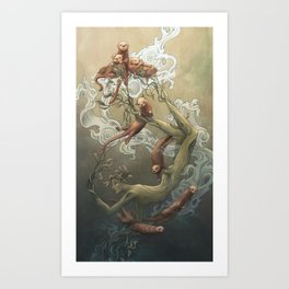 Suspension Art Print