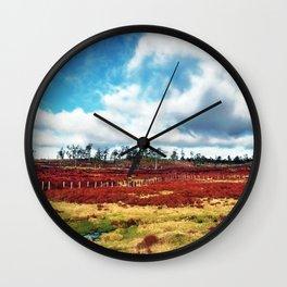 Firefields Wall Clock