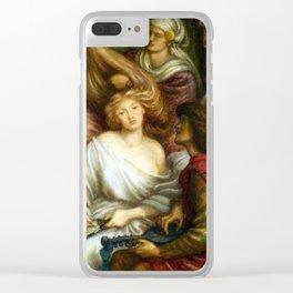 Dante Gabriel Rossetti Morning Music Clear iPhone Case