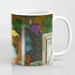 Tehuana Women Bringing Fruit to Market by Diego Rivera Coffee Mug