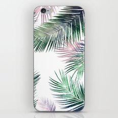 tropical leaves 2 iPhone & iPod Skin